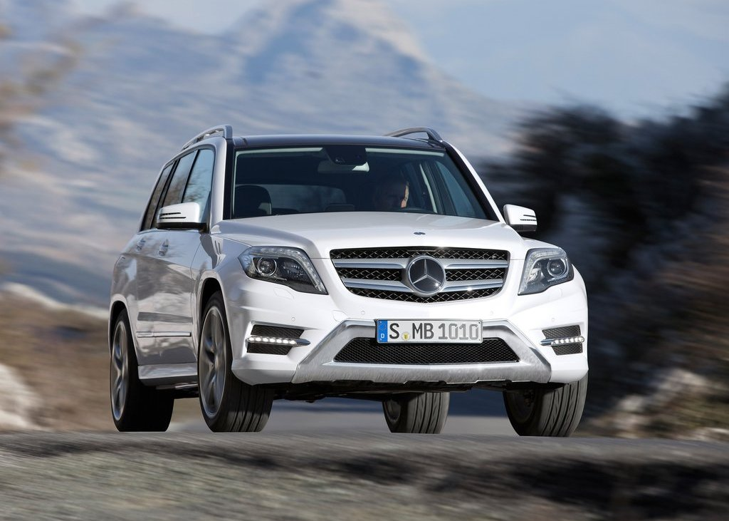 2013 Mercedes Benz GLK Class Front (View 9 of 21)