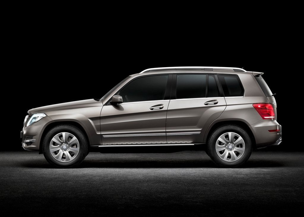 2013 Mercedes Benz GLK Class Side (View 17 of 21)
