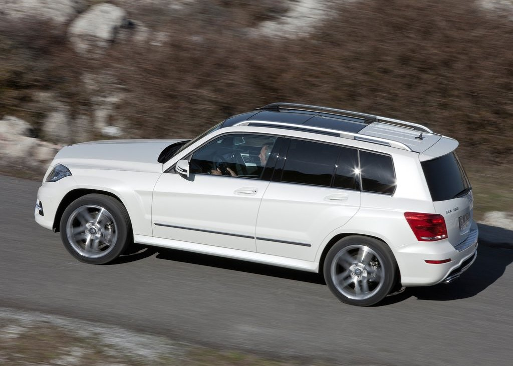 2013 Mercedes Benz GLK Class Side (View 19 of 21)