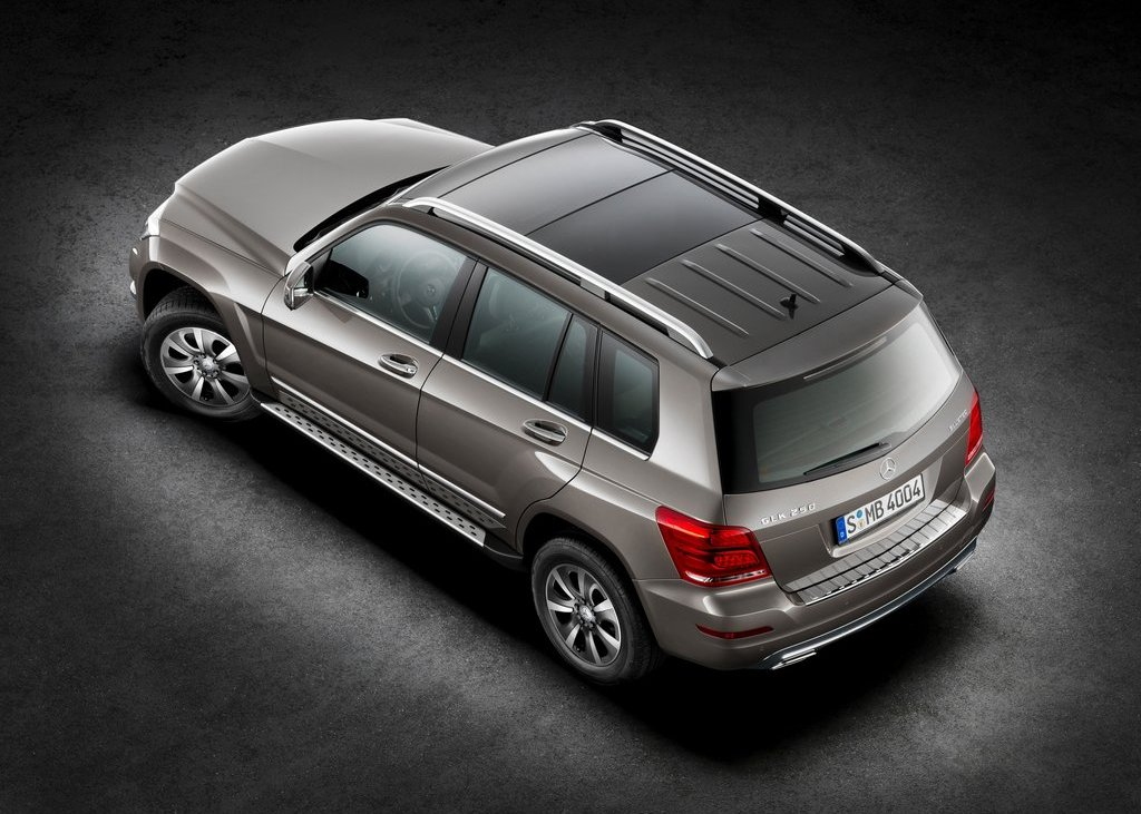 2013 Mercedes Benz GLK Class Top View (View 20 of 21)