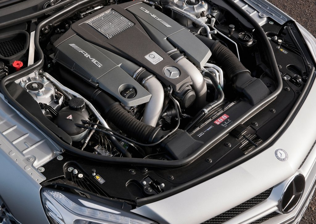 2013 Mercedes Benz SL63 AMG Engine (View 4 of 15)