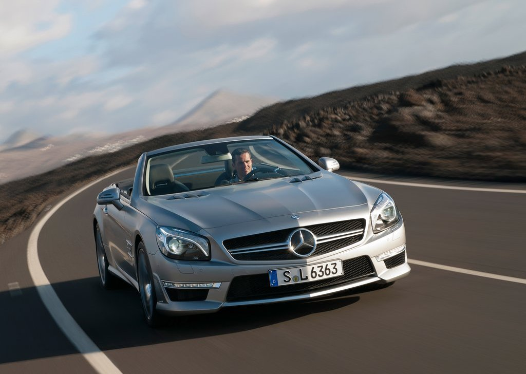 2013 Mercedes Benz SL63 AMG Front (View 7 of 15)