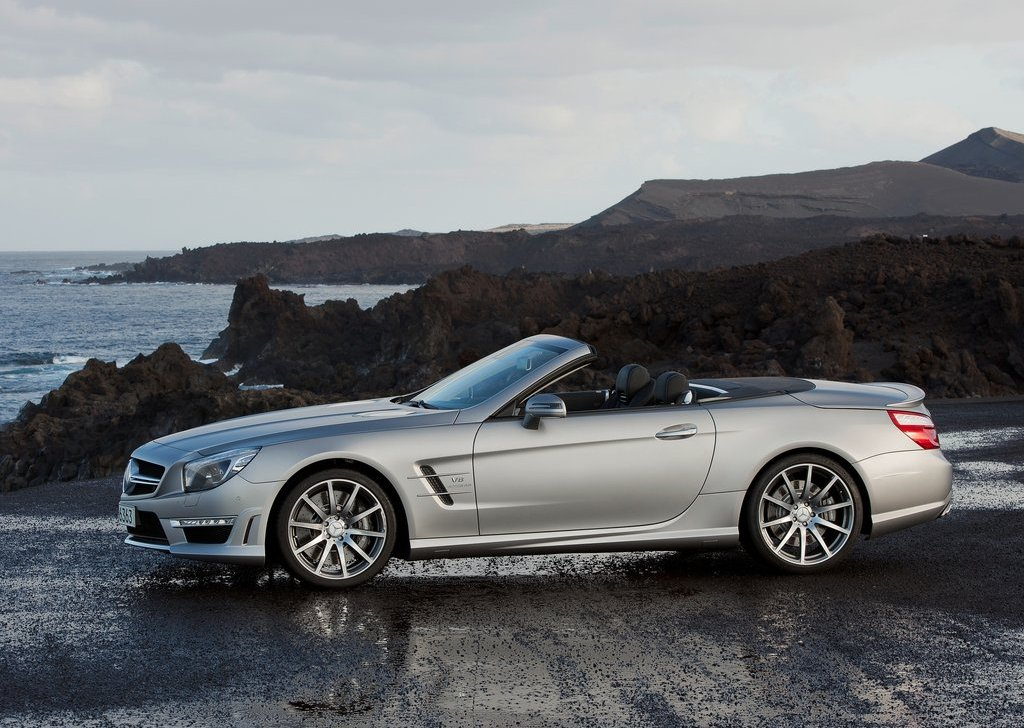 2013 Mercedes Benz SL63 AMG Left Side (View 12 of 15)