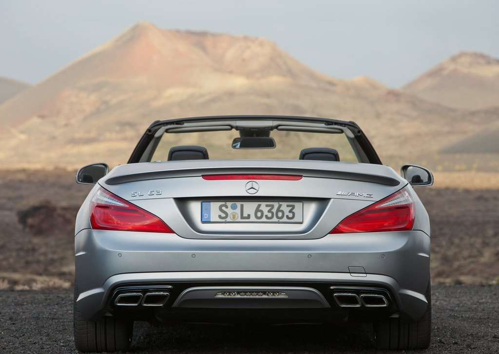 2013 Mercedes Benz SL63 AMG Rear (View 11 of 15)