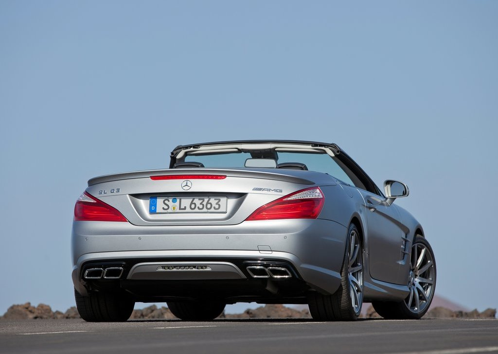 2013 Mercedes Benz SL63 AMG Rear (View 9 of 15)
