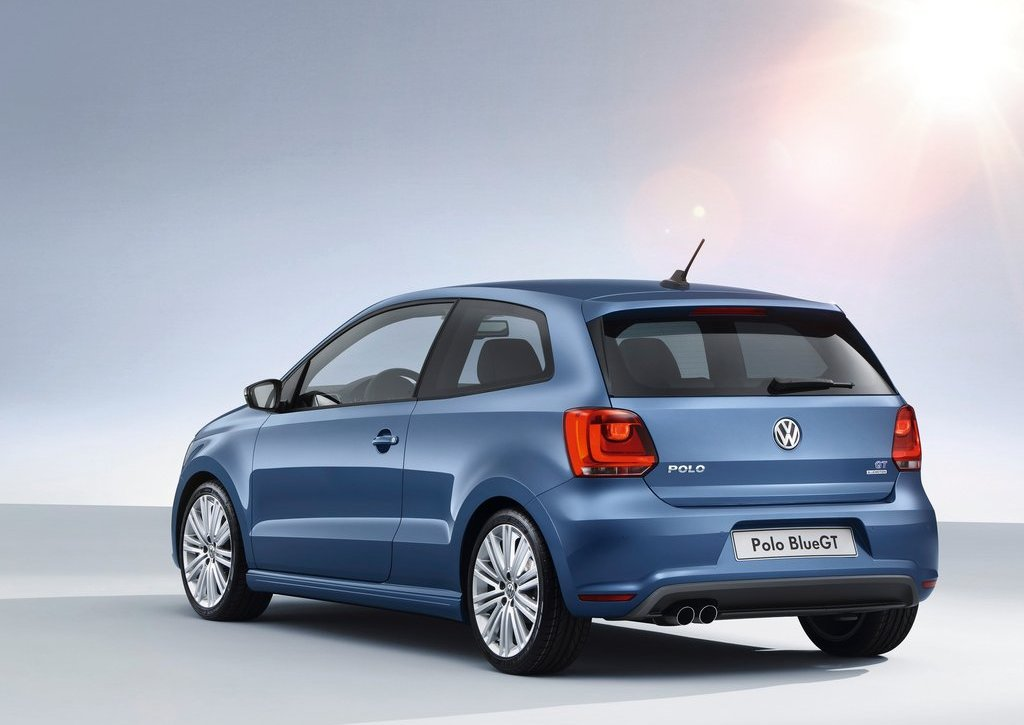 2013 Volkswagen Polo BlueGT Rear (View 4 of 8)