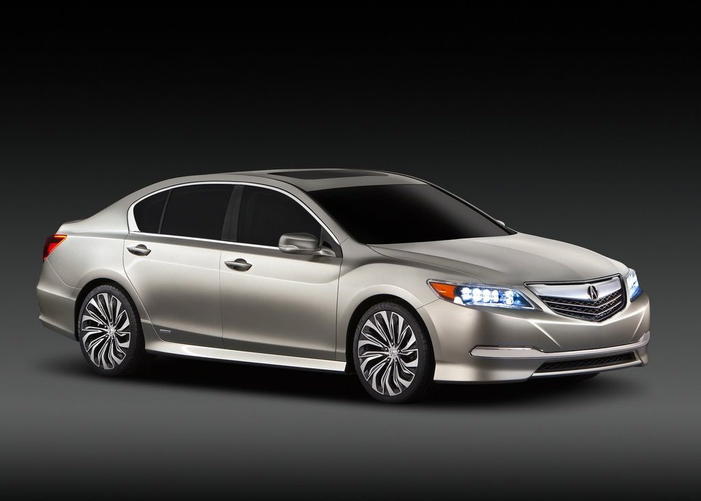 2012 Acura RLX Front (Photo 2 of 6)
