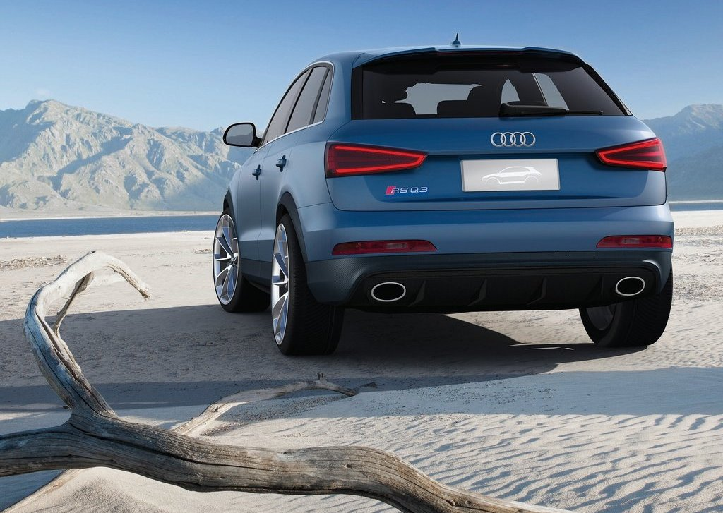 2012 Audi RS Q3 Rear (Photo 9 of 14)