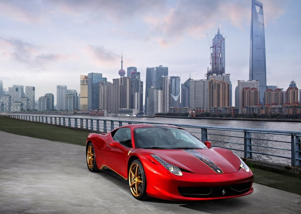 Featured Image of 2012 Ferrari 458 Italia China 20th Anniversary