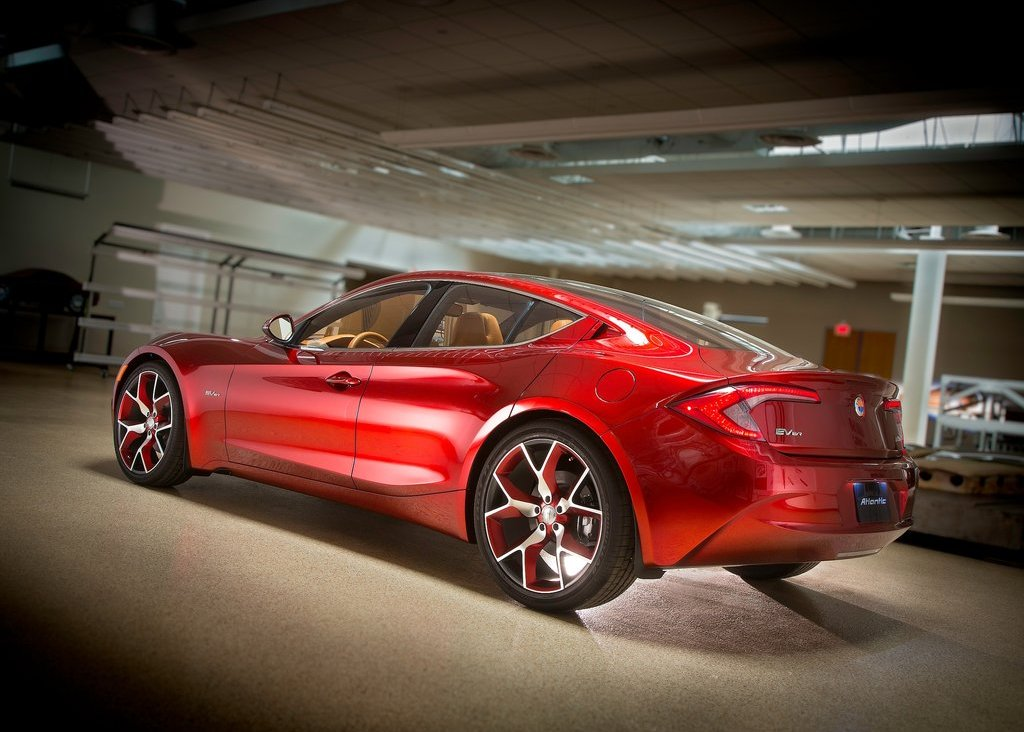 2012 Fisker Atlantic Rear Angle (View 1 of 8)