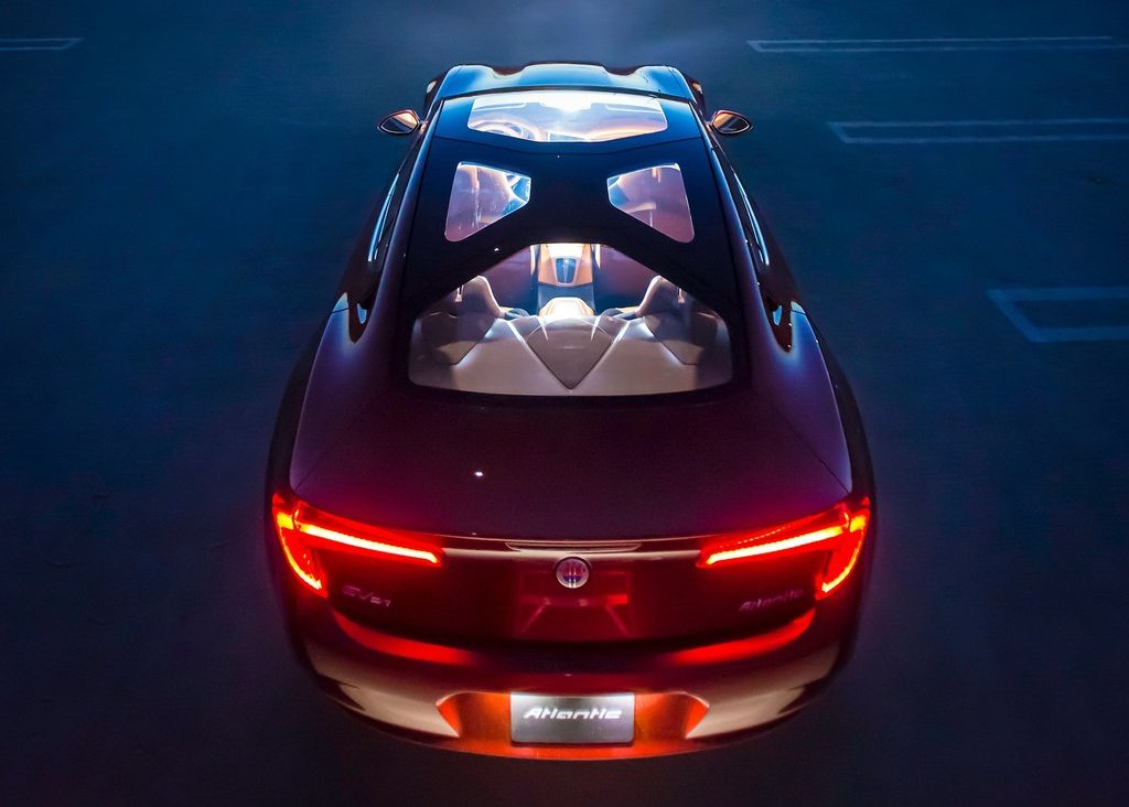 2012 Fisker Atlantic Top View (View 4 of 8)