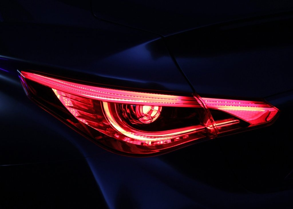 2012 Infiniti LE Tail Lamp (View 12 of 13)