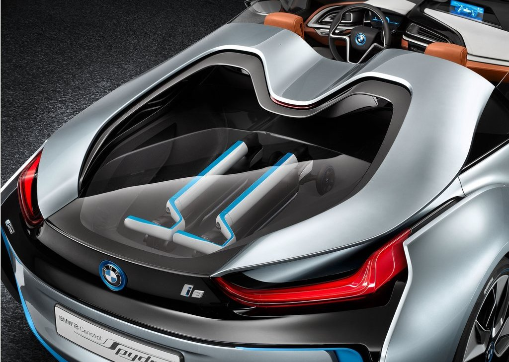 2013 BMW I8 Spyder Behind (Photo 3 of 17)