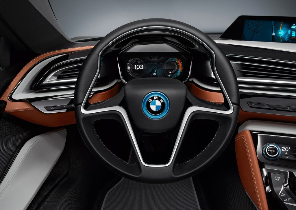 2013 BMW I8 Spyder Dashboard (Photo 4 of 17)