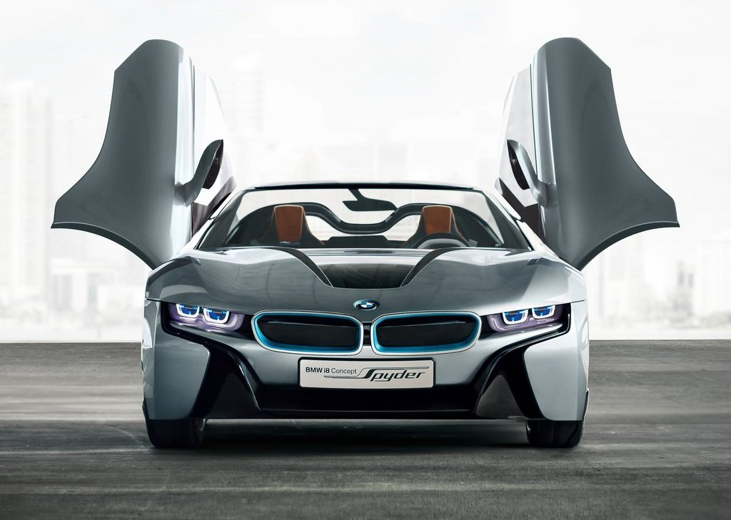 2013 BMW I8 Spyder Front (Photo 8 of 17)