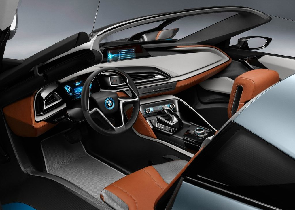 2013 BMW I8 Spyder Interior (Photo 10 of 17)