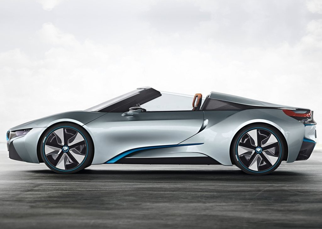 2013 BMW I8 Spyder Left Side (Photo 11 of 17)