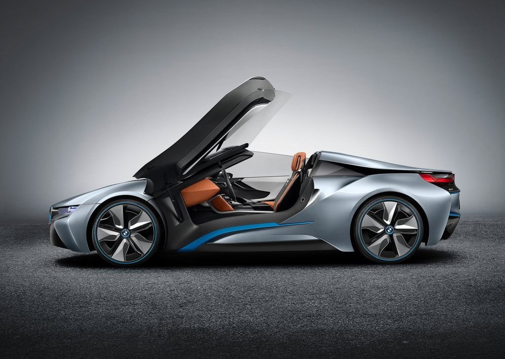 2013 BMW I8 Spyder Side (Photo 16 of 17)