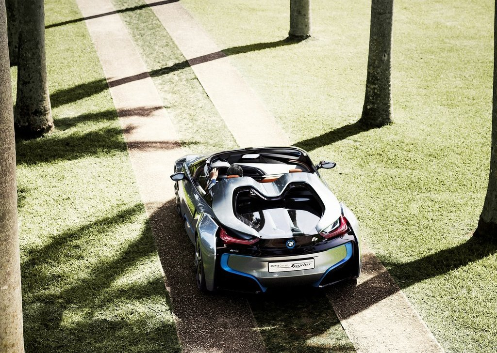 2013 BMW I8 Spyder Top View (Photo 17 of 17)