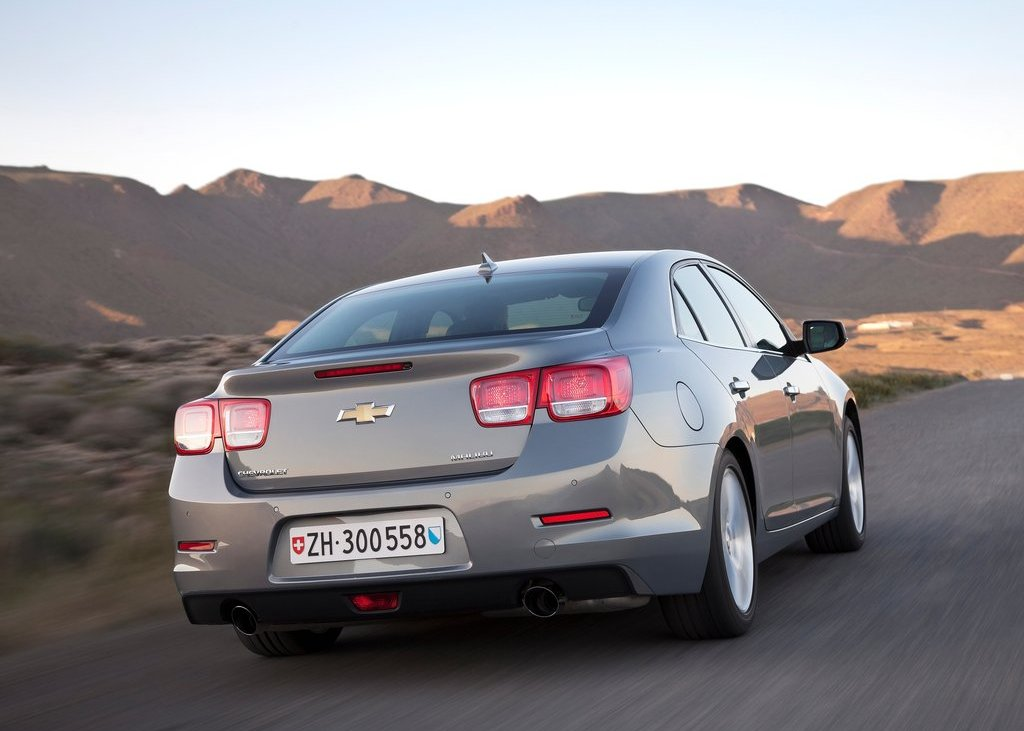 2013 Chevrolet Malibu Rear (View 21 of 28)