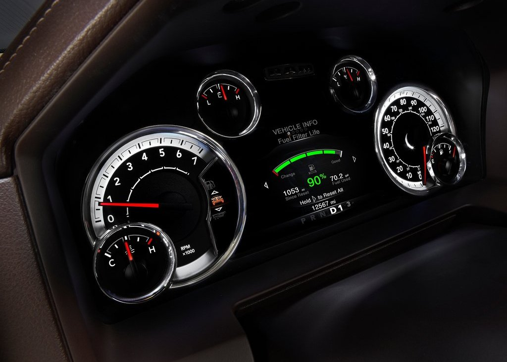 2013 Dodge Ram 1500 Speedometer (Photo 17 of 18)