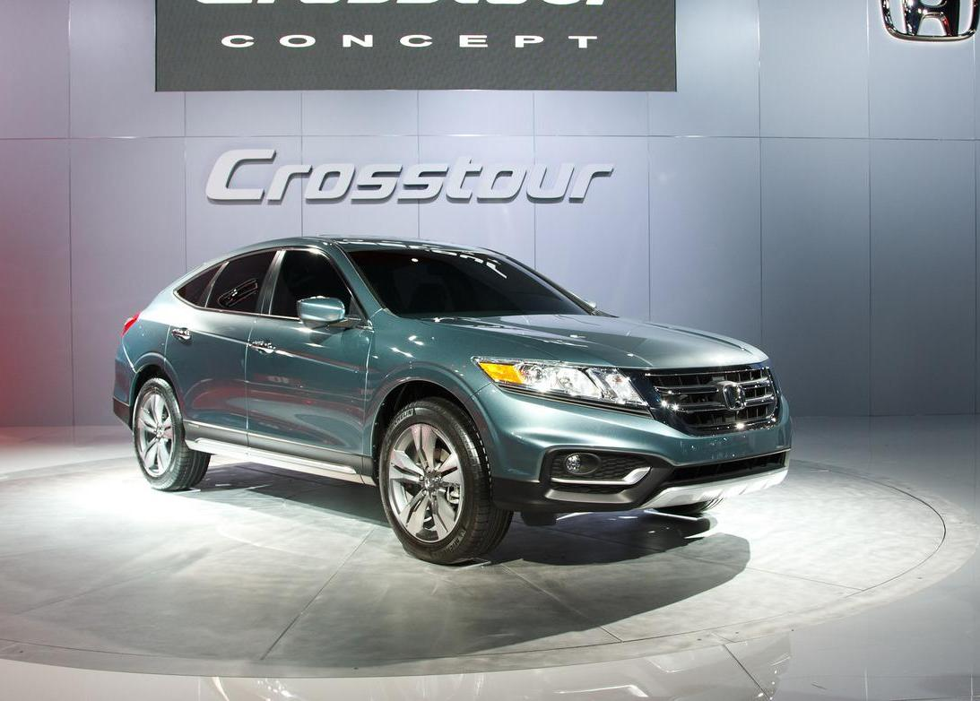 Featured Image of 2013 Honda Crosstour Concept New Car On