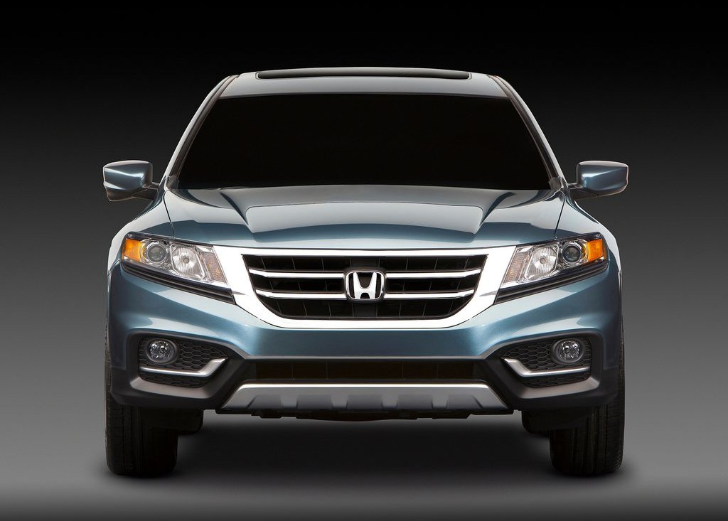 2013 Honda Crosstour Front View (View 2 of 10)