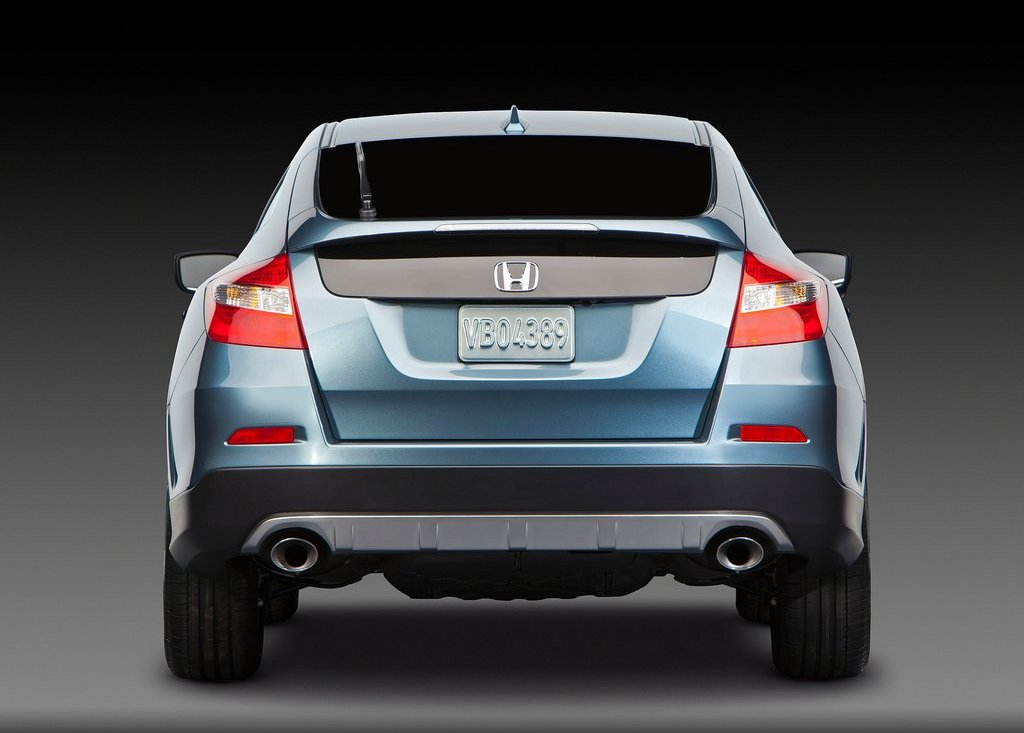 2013 Honda Crosstour Rear View (Photo 9 of 10)