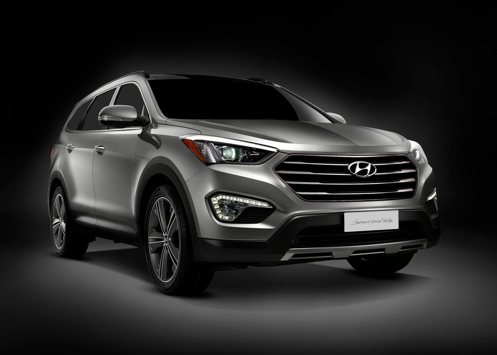 2013 Hyundai Santa Fe Front (View 1 of 5)