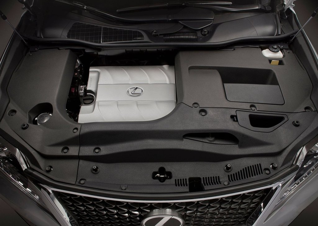 2013 Lexus RX 350 F Sport Engine (Photo 4 of 19)