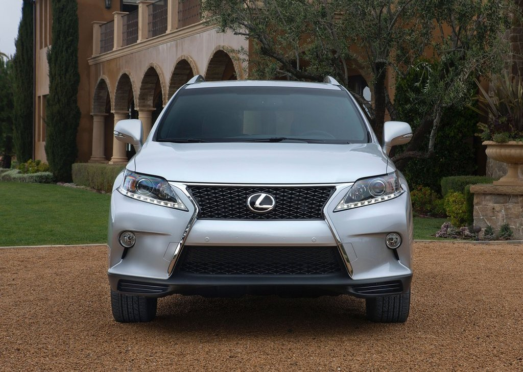 2013 Lexus RX 350 F Sport Front (View 4 of 19)