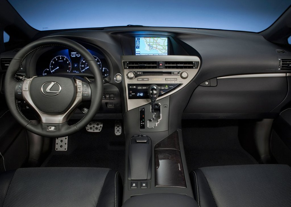2013 Lexus RX 350 F Sport Interior (Photo 5 of 19)