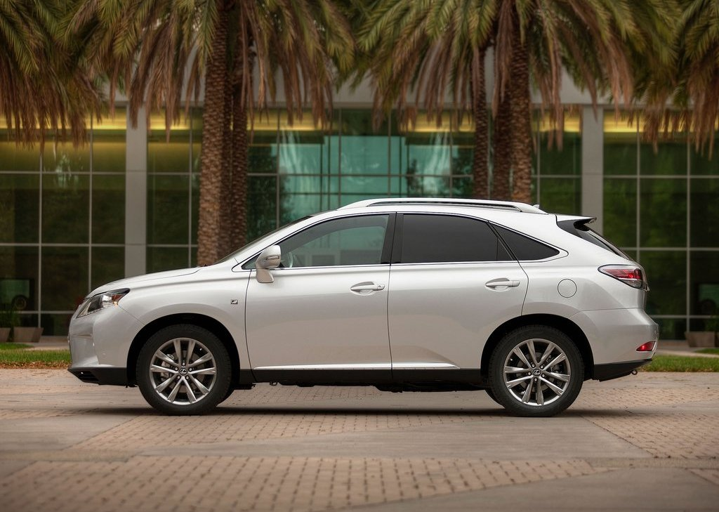 2013 Lexus RX 350 F Sport Left Side (View 10 of 19)
