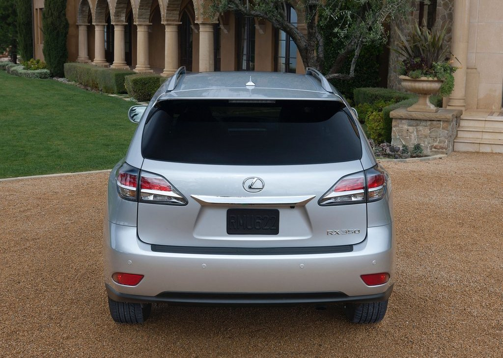 2013 Lexus RX 350 F Sport Rear (Photo 12 of 19)