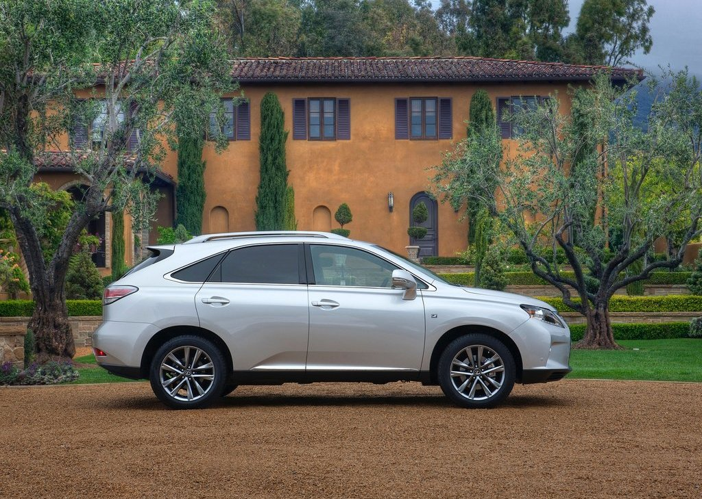 2013 Lexus RX 350 F Sport Right Side (View 14 of 19)