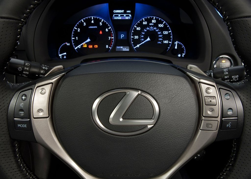 2013 Lexus RX 350 F Sport Speedometer (Photo 16 of 19)