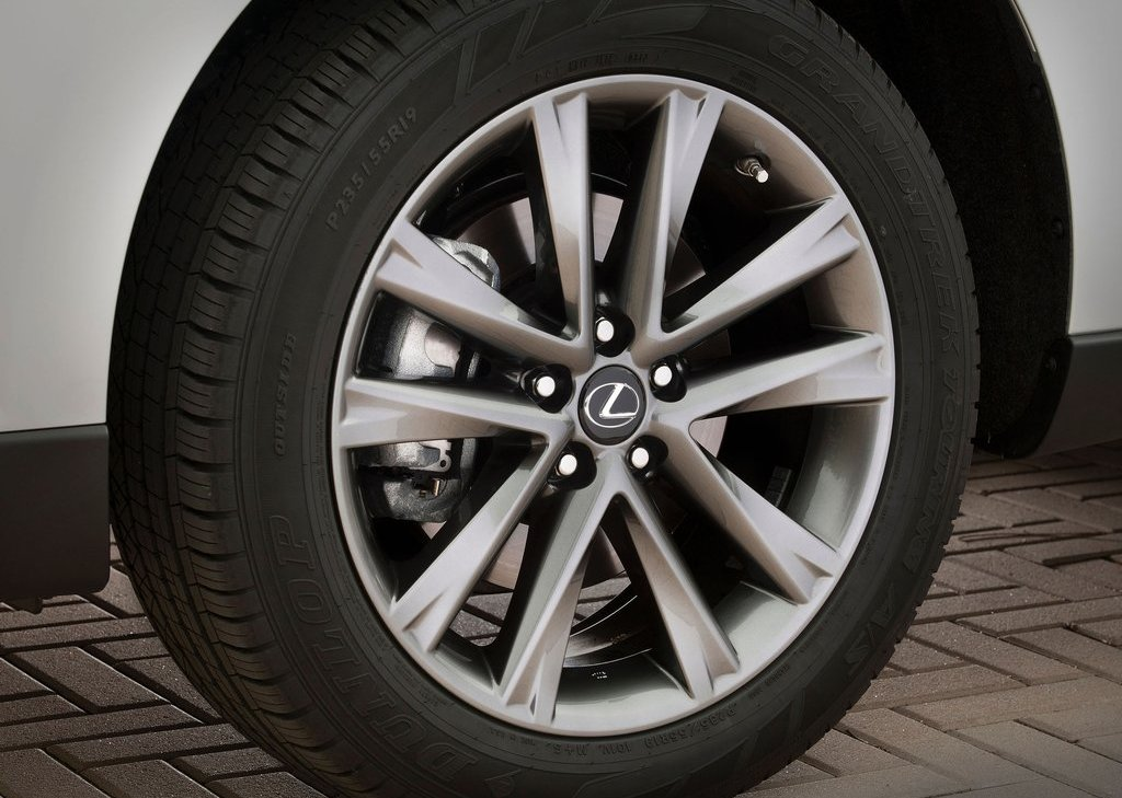 2013 Lexus RX 350 F Sport Wheels (Photo 19 of 19)