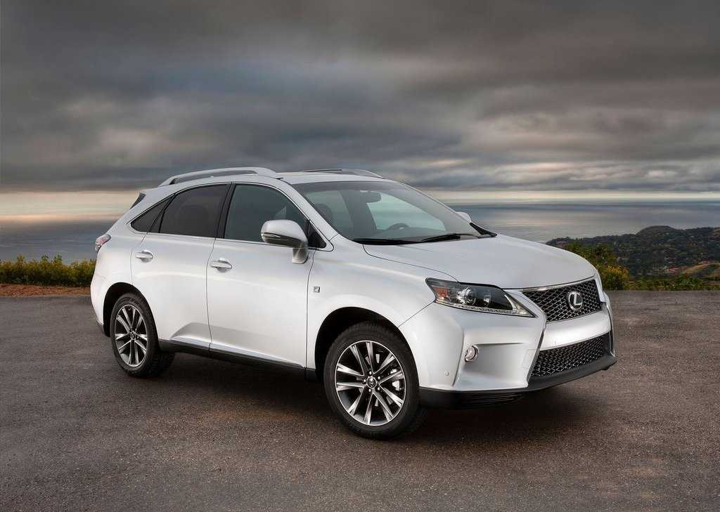 2013 Lexus RX 350 F Sport Review Pictures Gallery (19 Images)