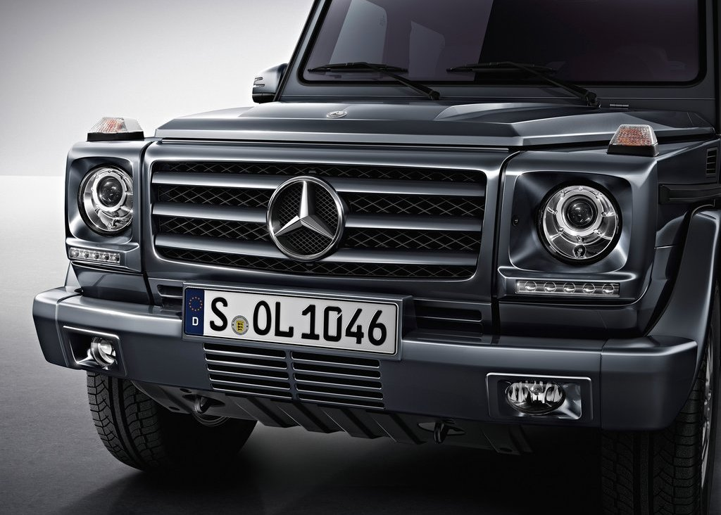 2013 Mercedes Benz G Class Grill (Photo 5 of 12)
