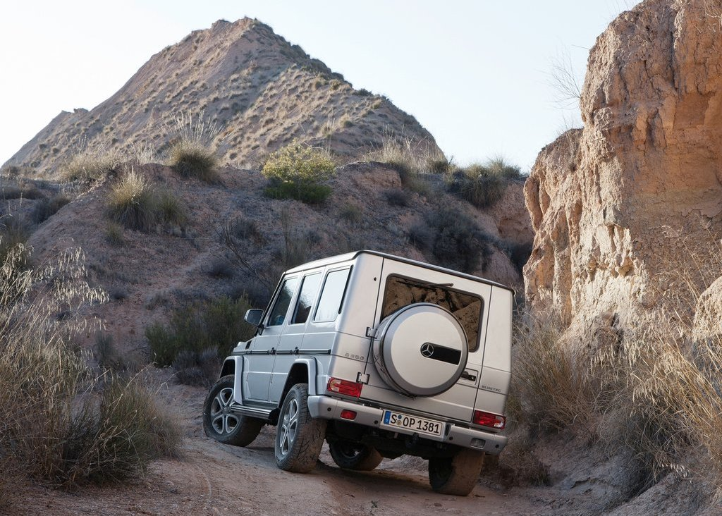2013 Mercedes Benz G Class Rear View (Photo 10 of 12)