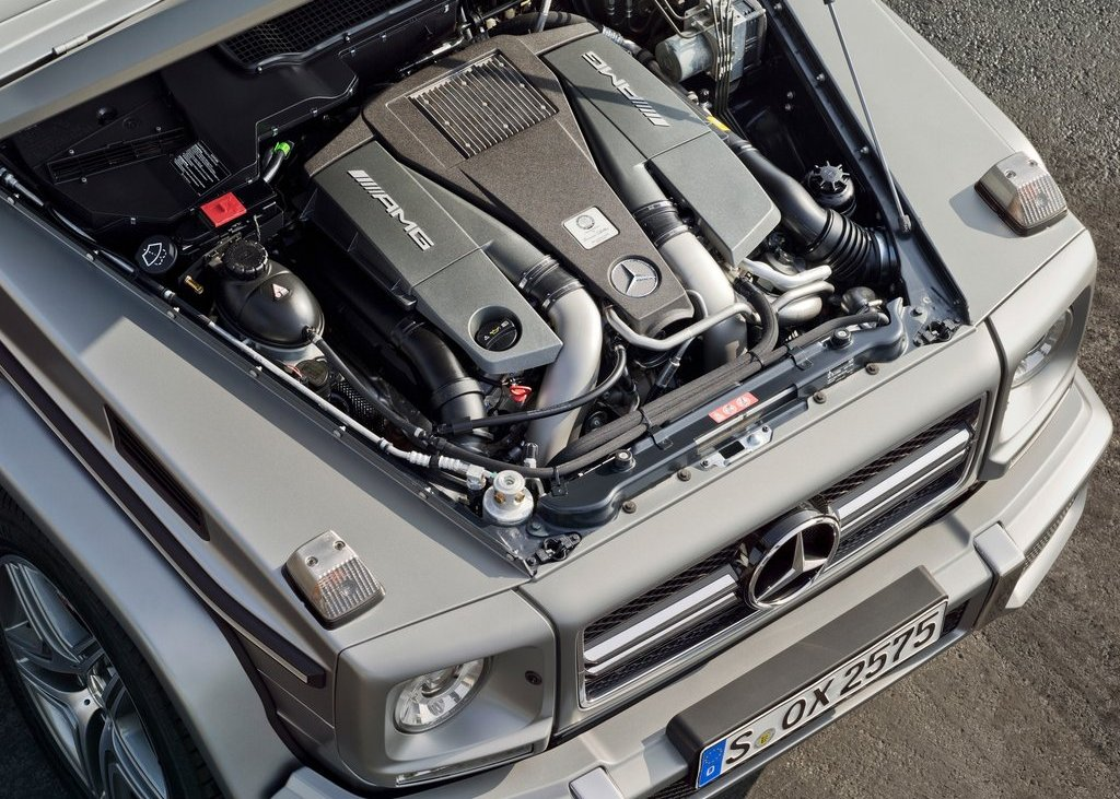 2013 Mercedes Benz G63 AMG Engine (View 3 of 8)