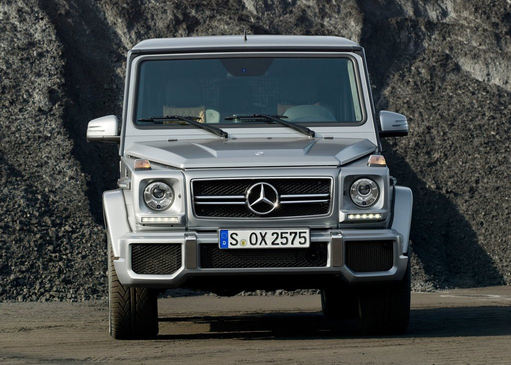 2013 Mercedes Benz G63 AMG Front View (Photo 5 of 8)