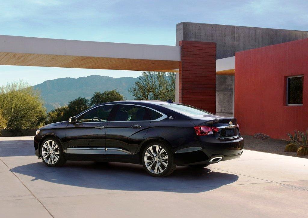 2014 Chevrolet Impala Rear (View 7 of 10)