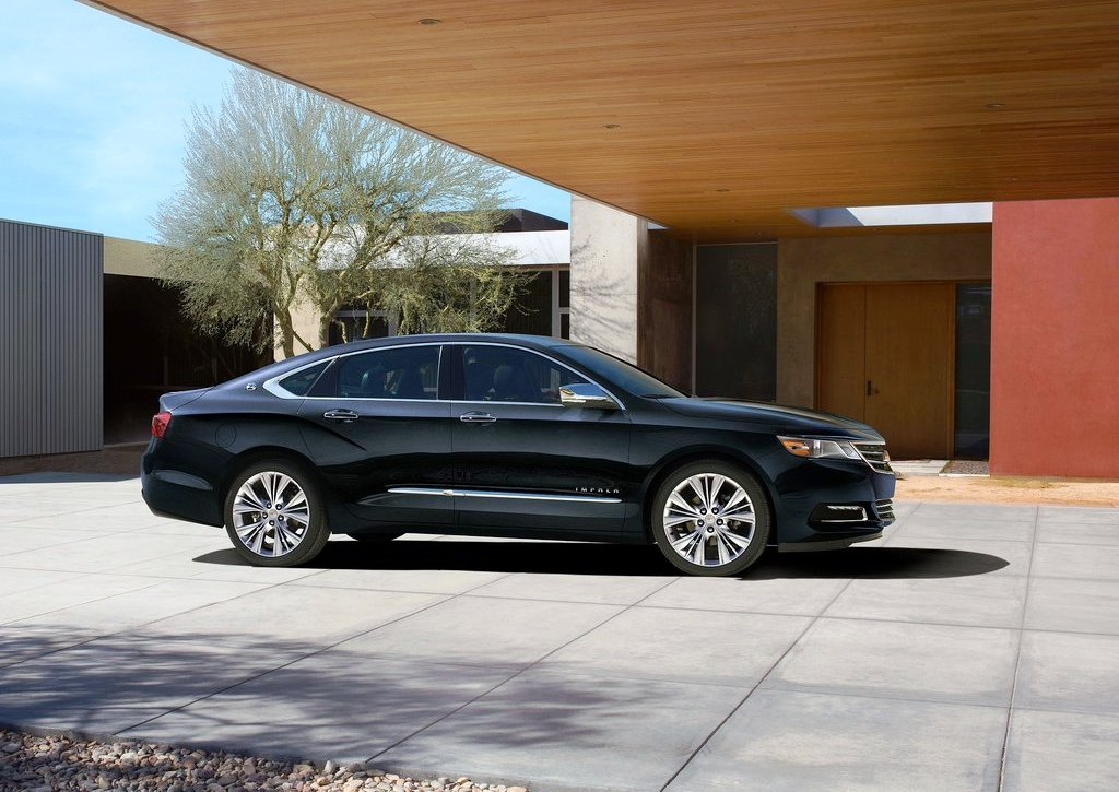 2014 Chevrolet Impala Side (View 3 of 10)
