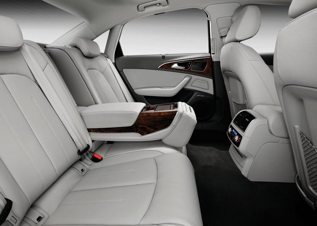 2012 Audi A6 L E Tron Back Seat (Photo 2 of 14)