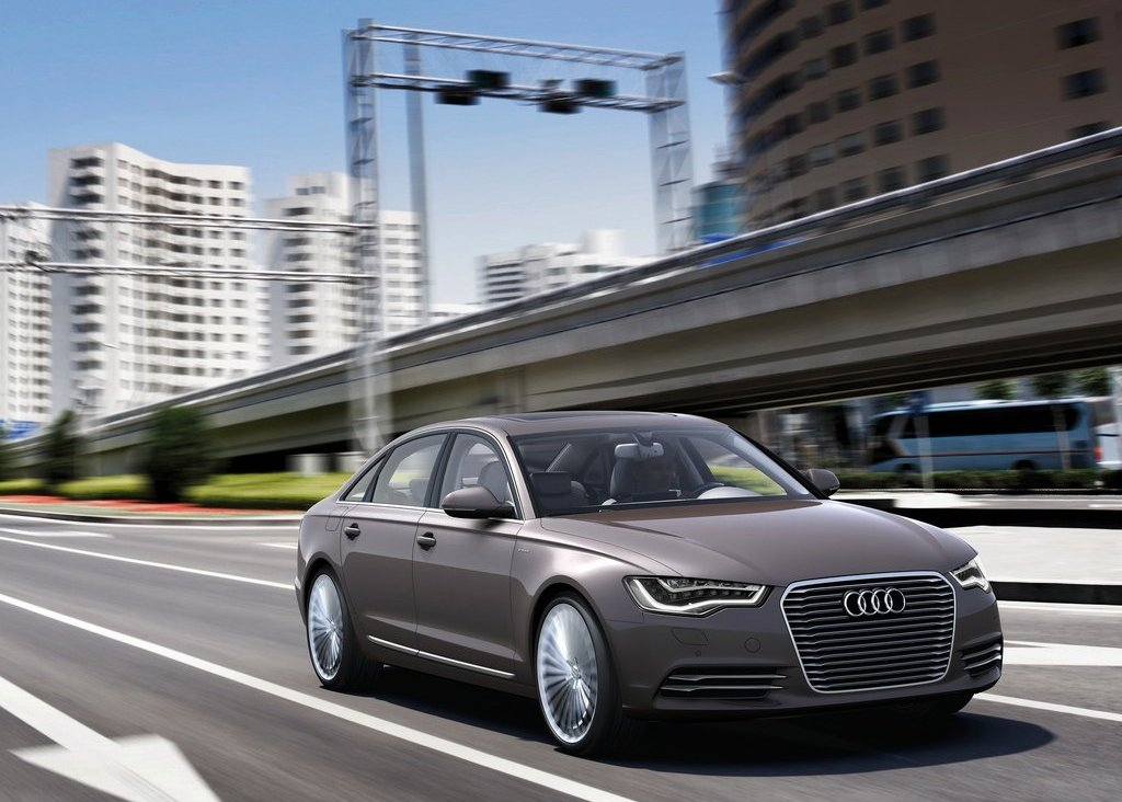 2012 Audi A6 L E Tron Front View (Photo 7 of 14)