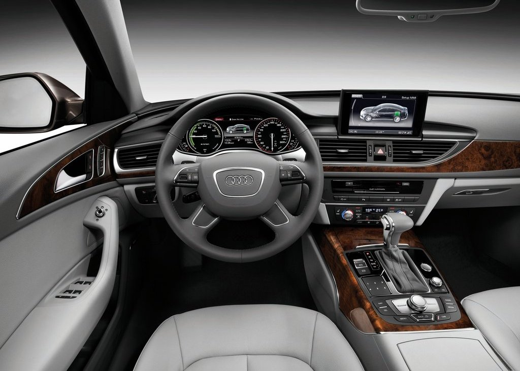 2012 Audi A6 L E Tron Interior (Photo 9 of 14)