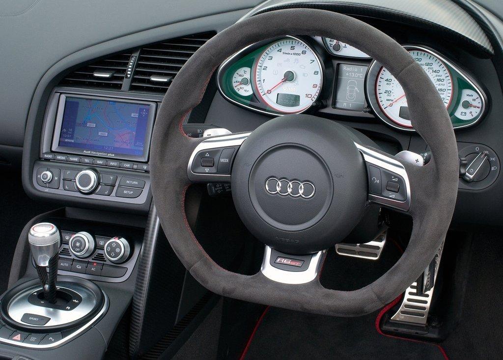 2012 Audi R8 GT Spyder Interior (View 12 of 24)