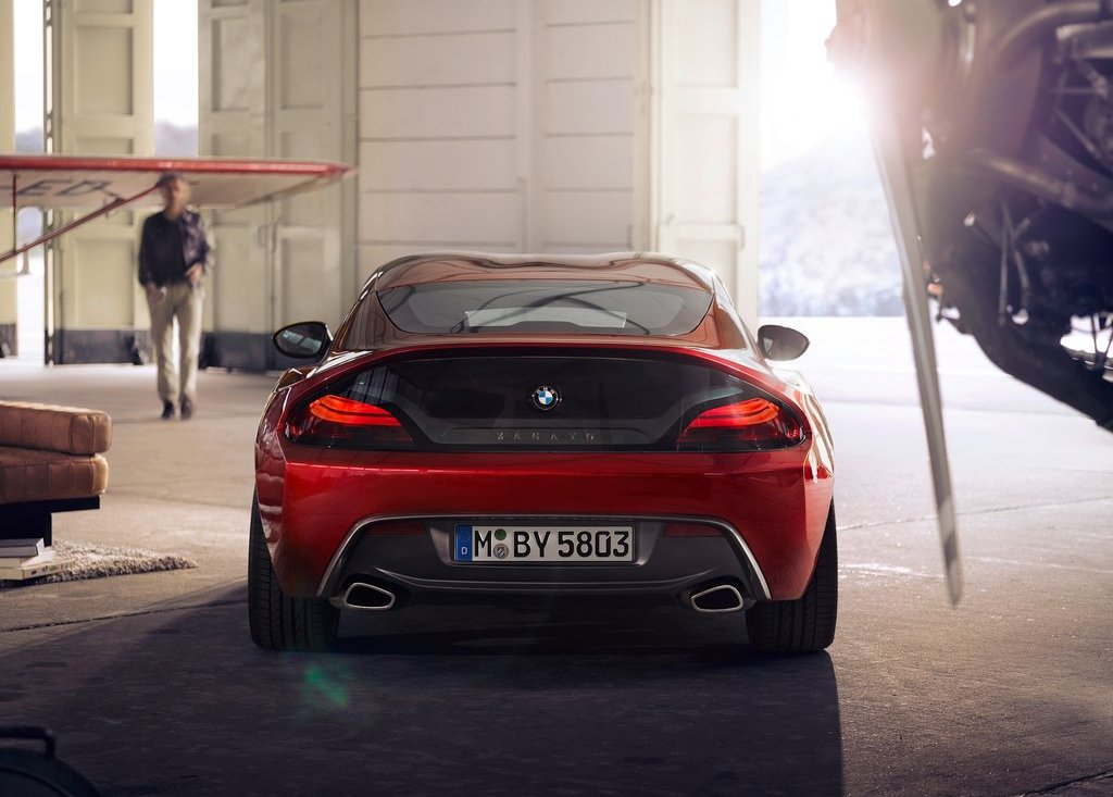 2012 BMW Zagato Coupe Rear (View 9 of 15)