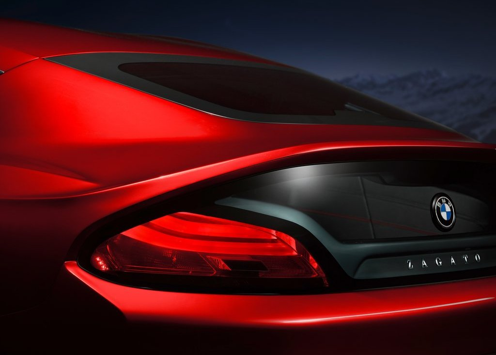 2012 BMW Zagato Coupe Tail Lamp (View 12 of 15)